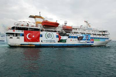 Freedom Flotilla aid ship